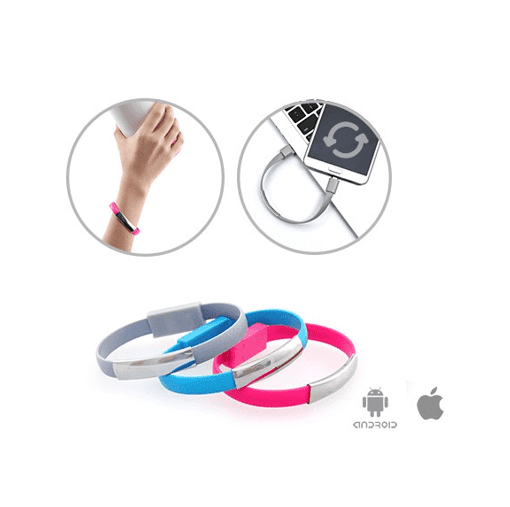 4001ame-silicone-bracelet-micro-apple-usb-cable-coral